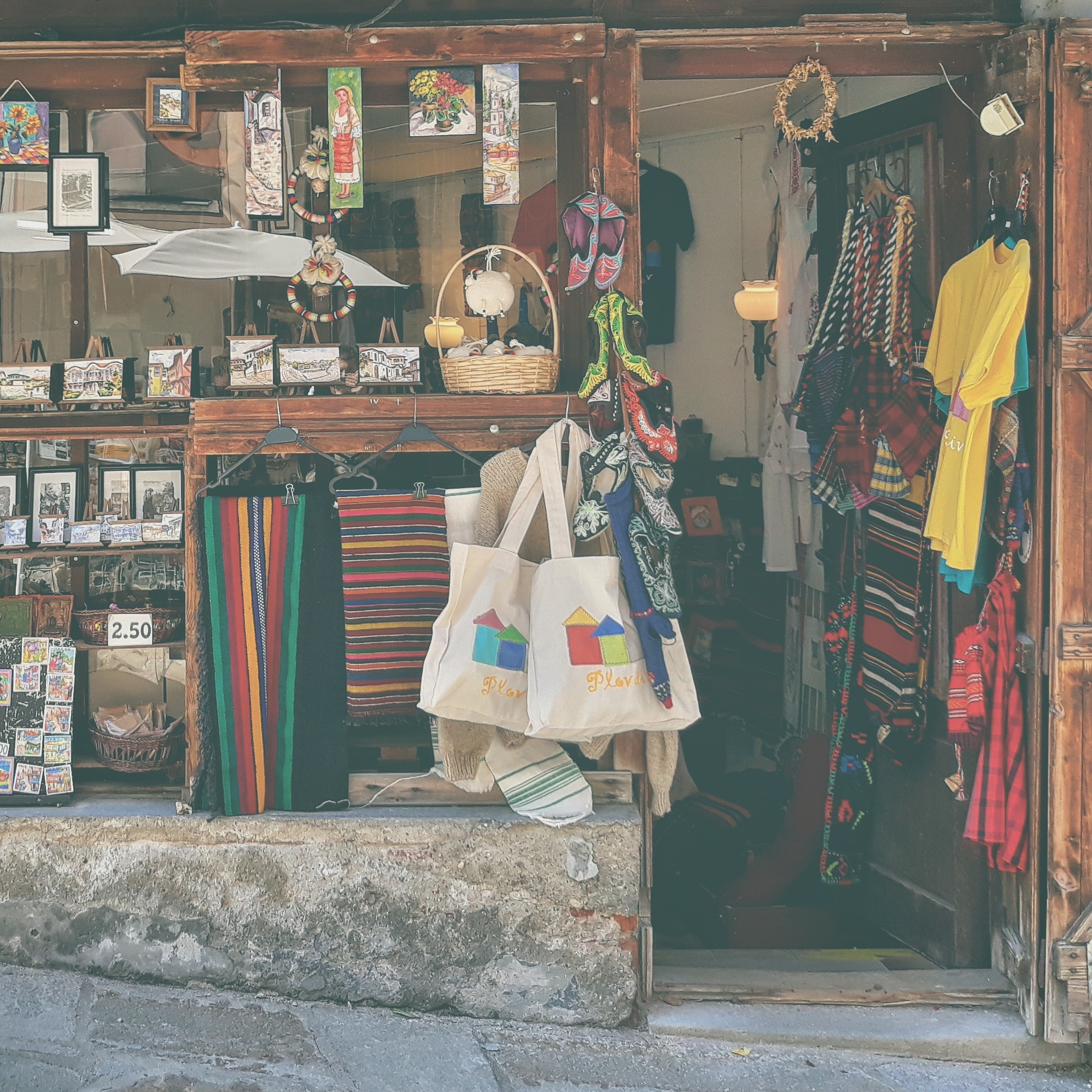 vintage store  by Krasi Asenov