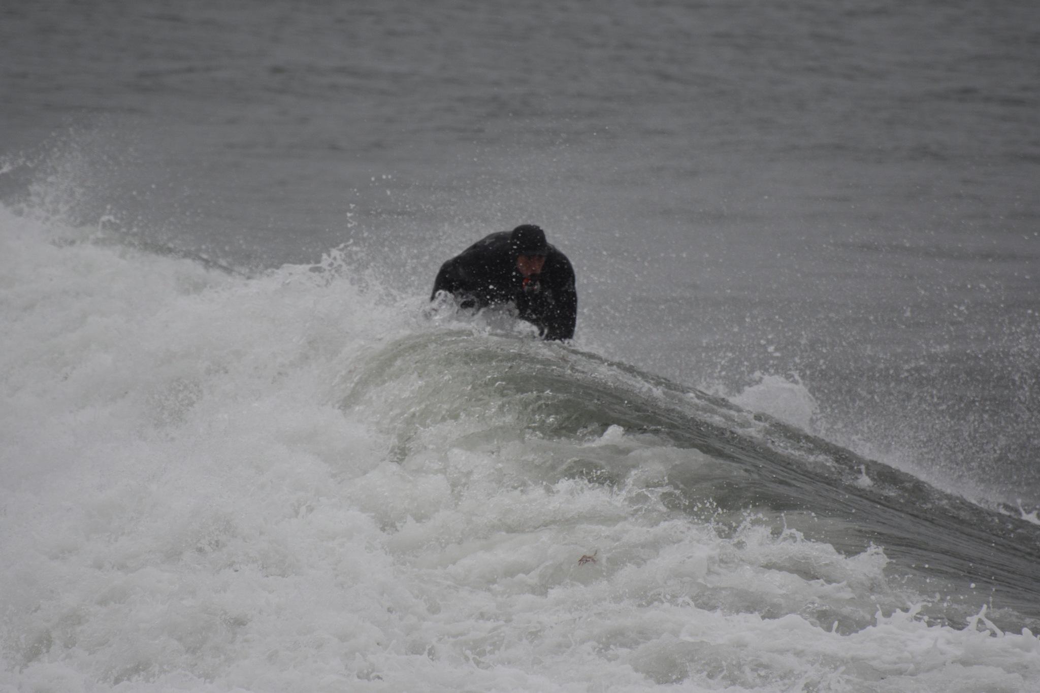 Pre Christmas Surfing Narragansett RI 12/18/2016 by Shanon