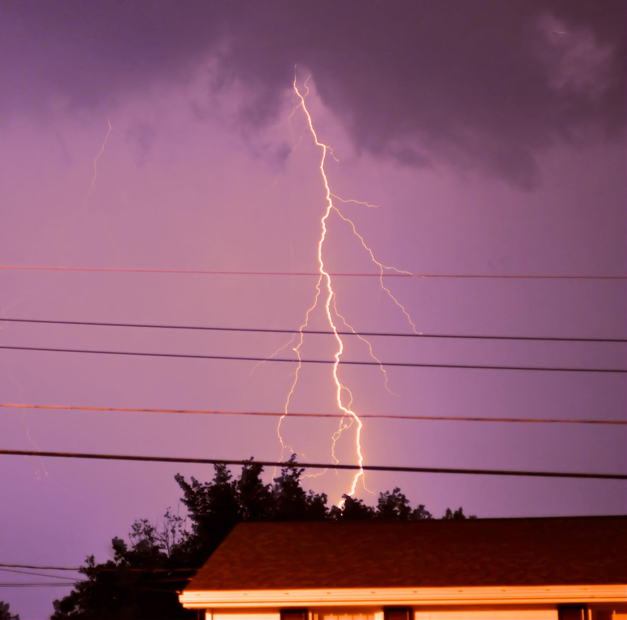 Lightning by Cynthia Hutton