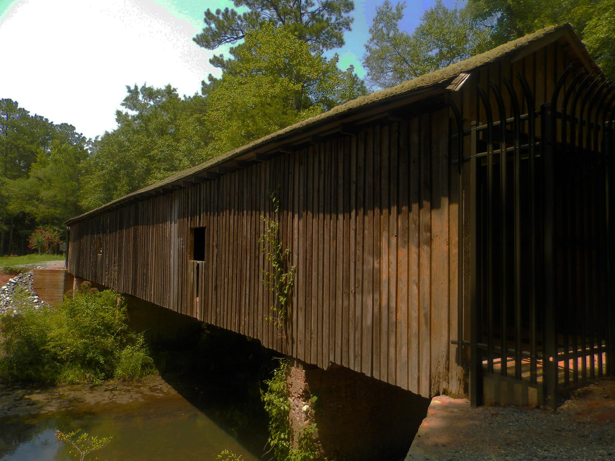 Coleekee Covered Bridge by evelyn.vinson