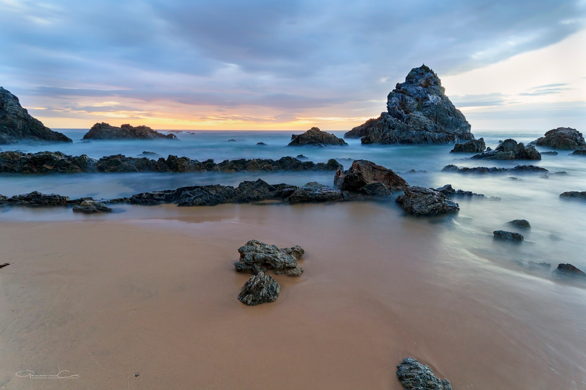 Sit and see the morning light.  by Graeme Cox