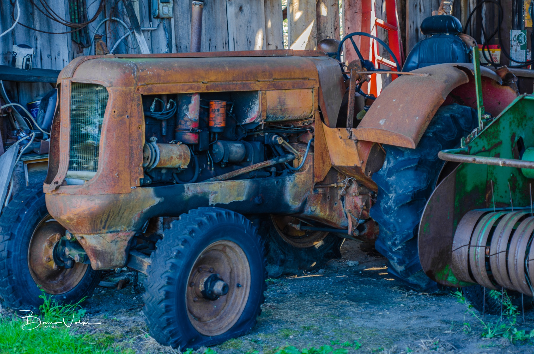 Old Tractor by Bruno V.