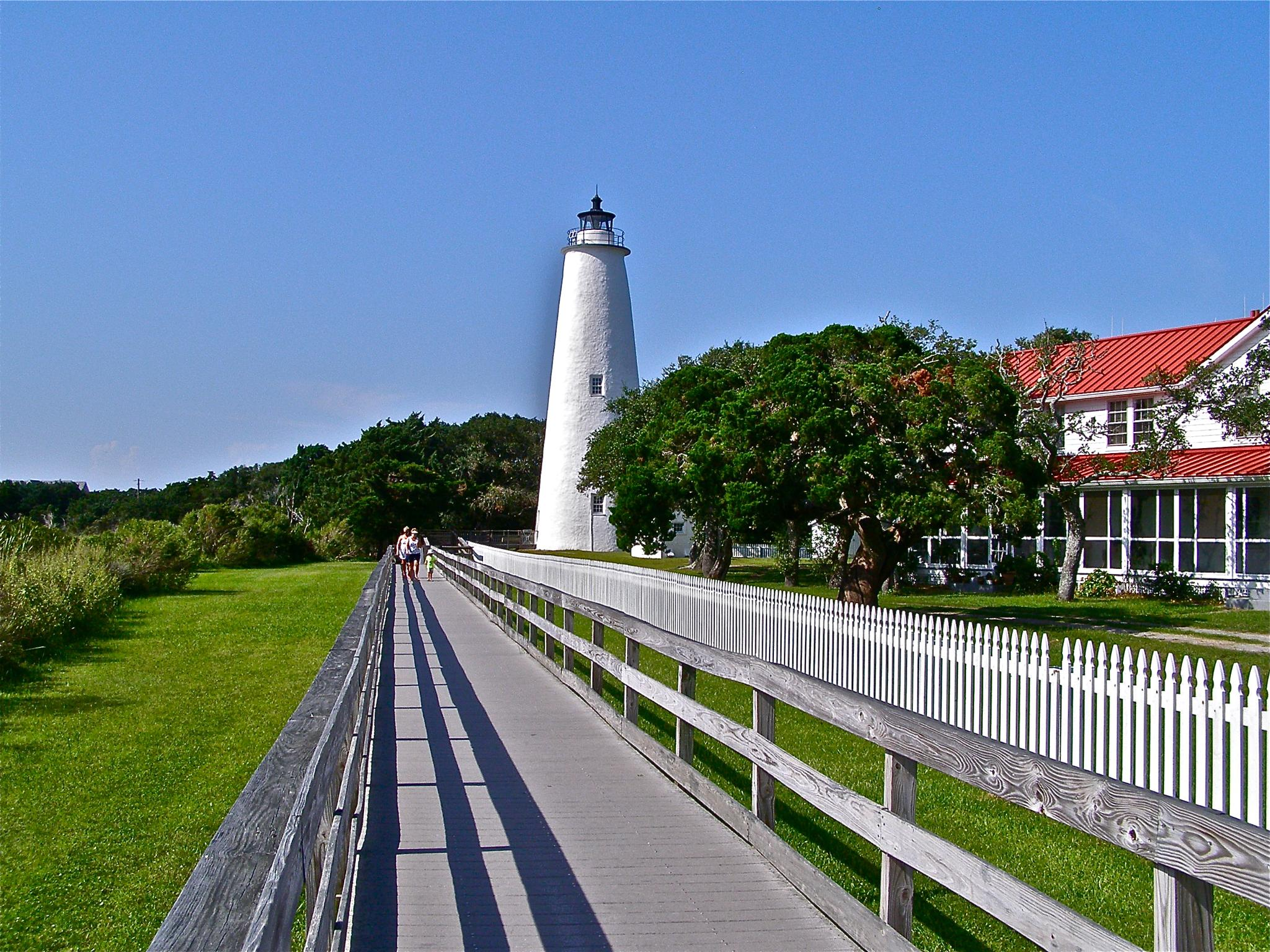 Ocracoke Lighthouse by gloria.west.12