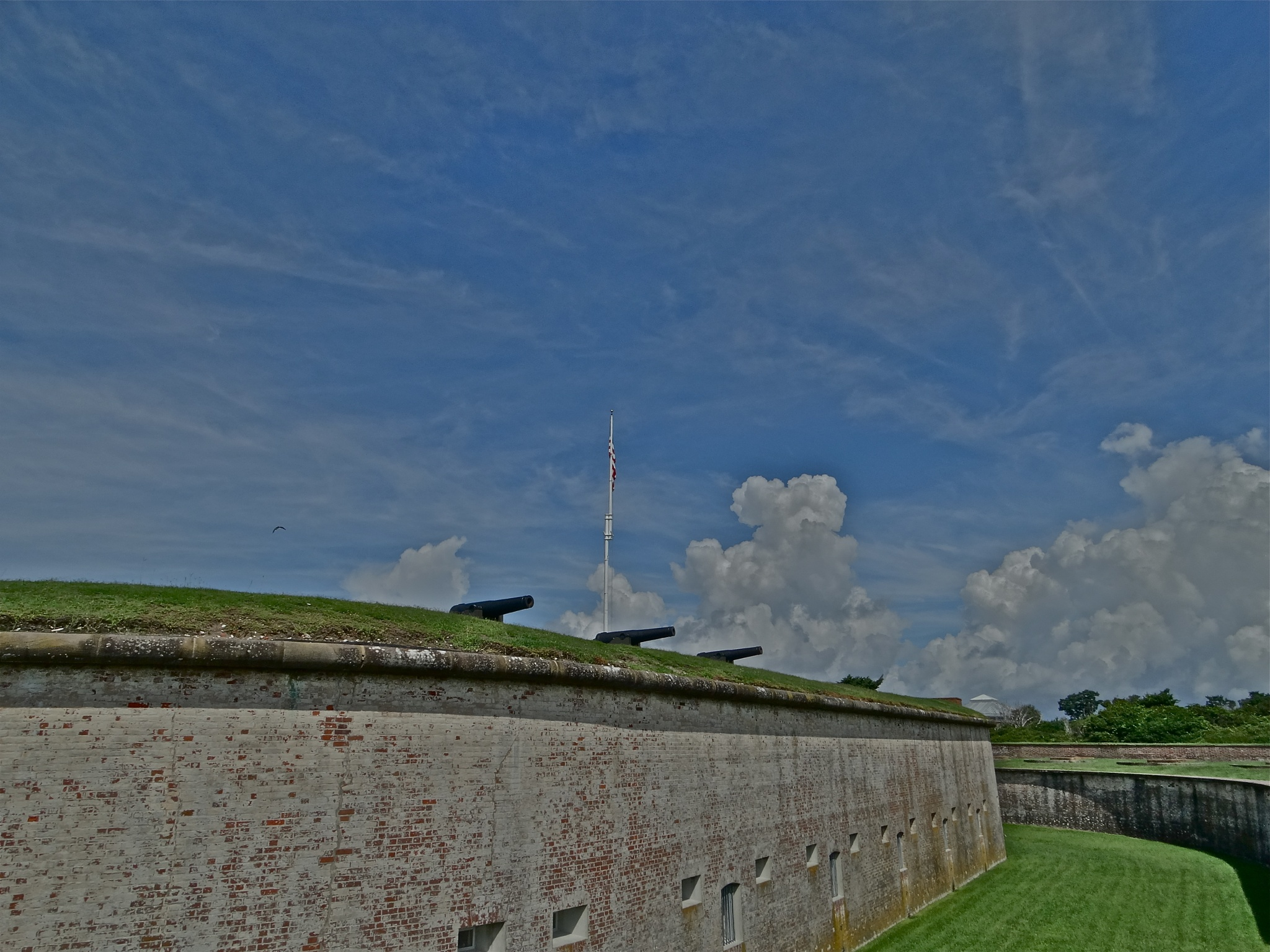 The Canons of Fort Macon by gloria.west.12