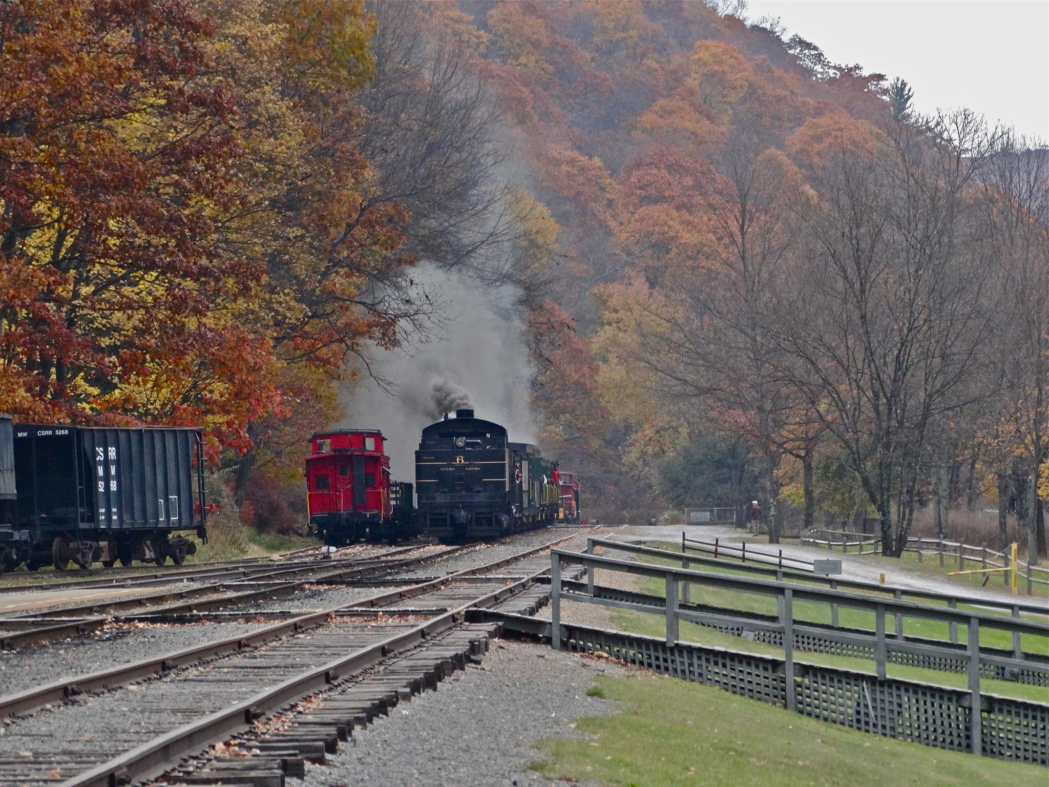 Cass Railroad West Virginia by gloria.west.12