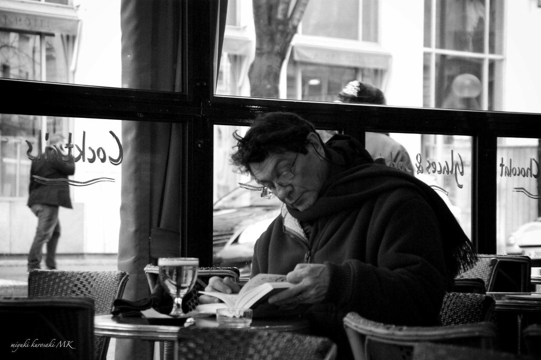 Slow time in Paris by miyuK