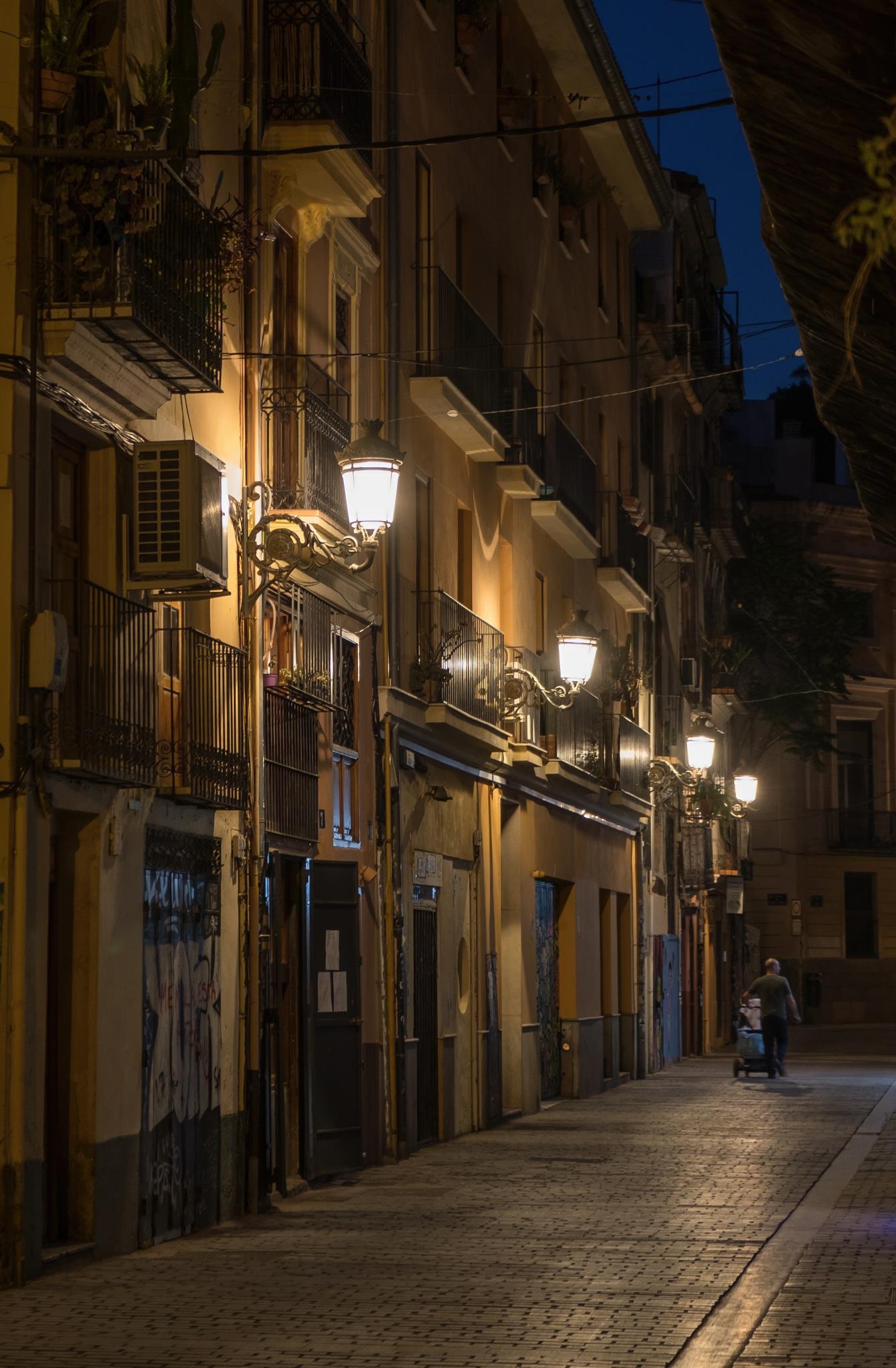 night walk by Alex Verweij