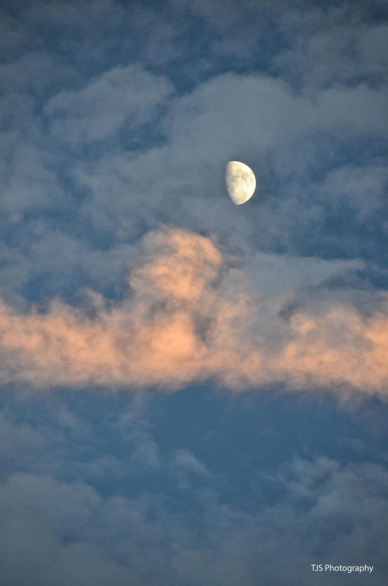A cloudy moonlit night by theresa.stevens.5817