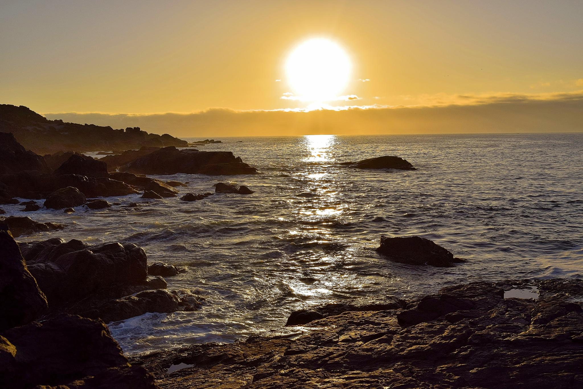 Sunset, Tongoy, Chile by milualin2006