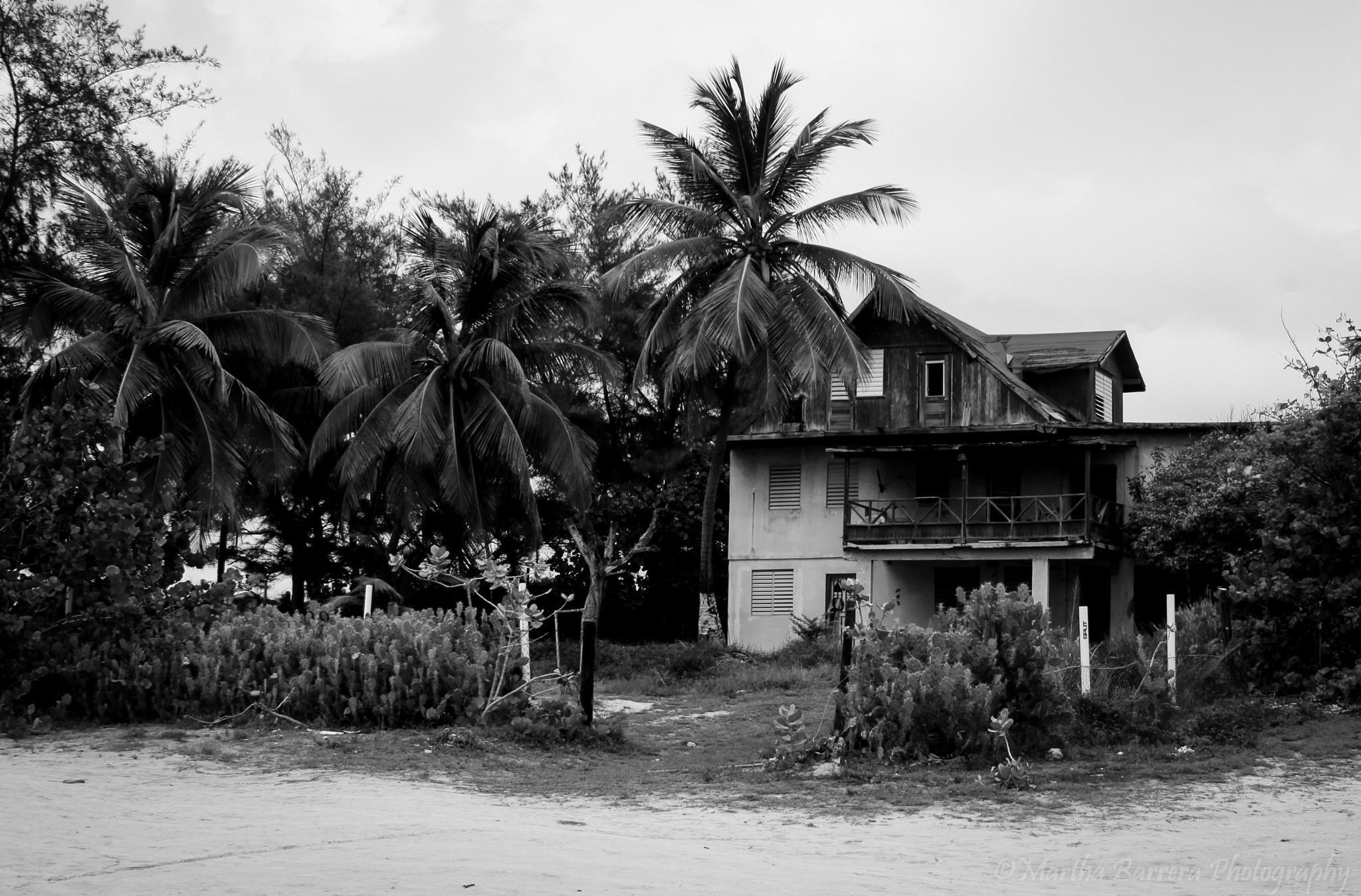 Abandoned Beach Home in Puerto Rico by Martha Jezi Barrera