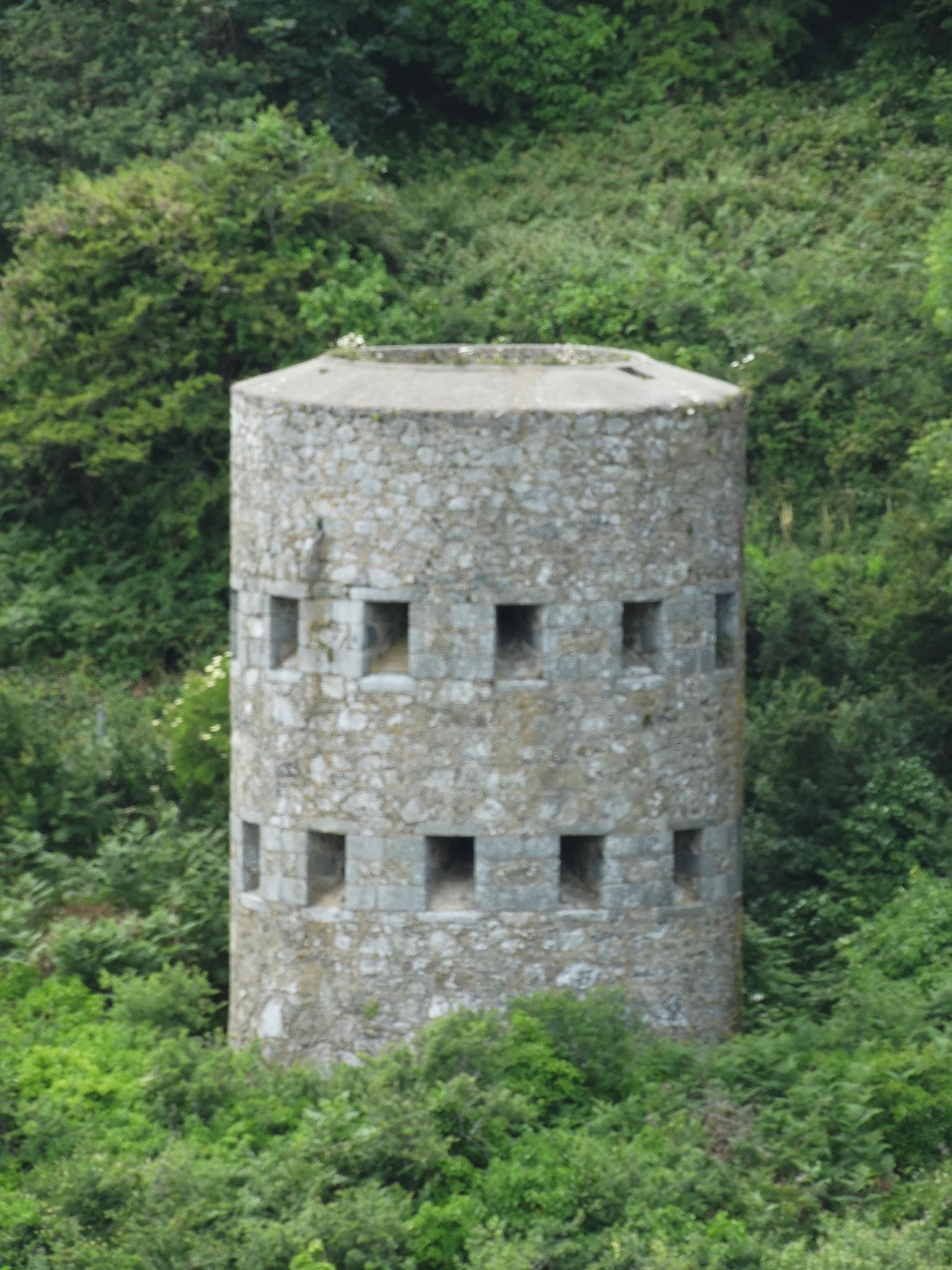 loophole tower  by wilma van heusden