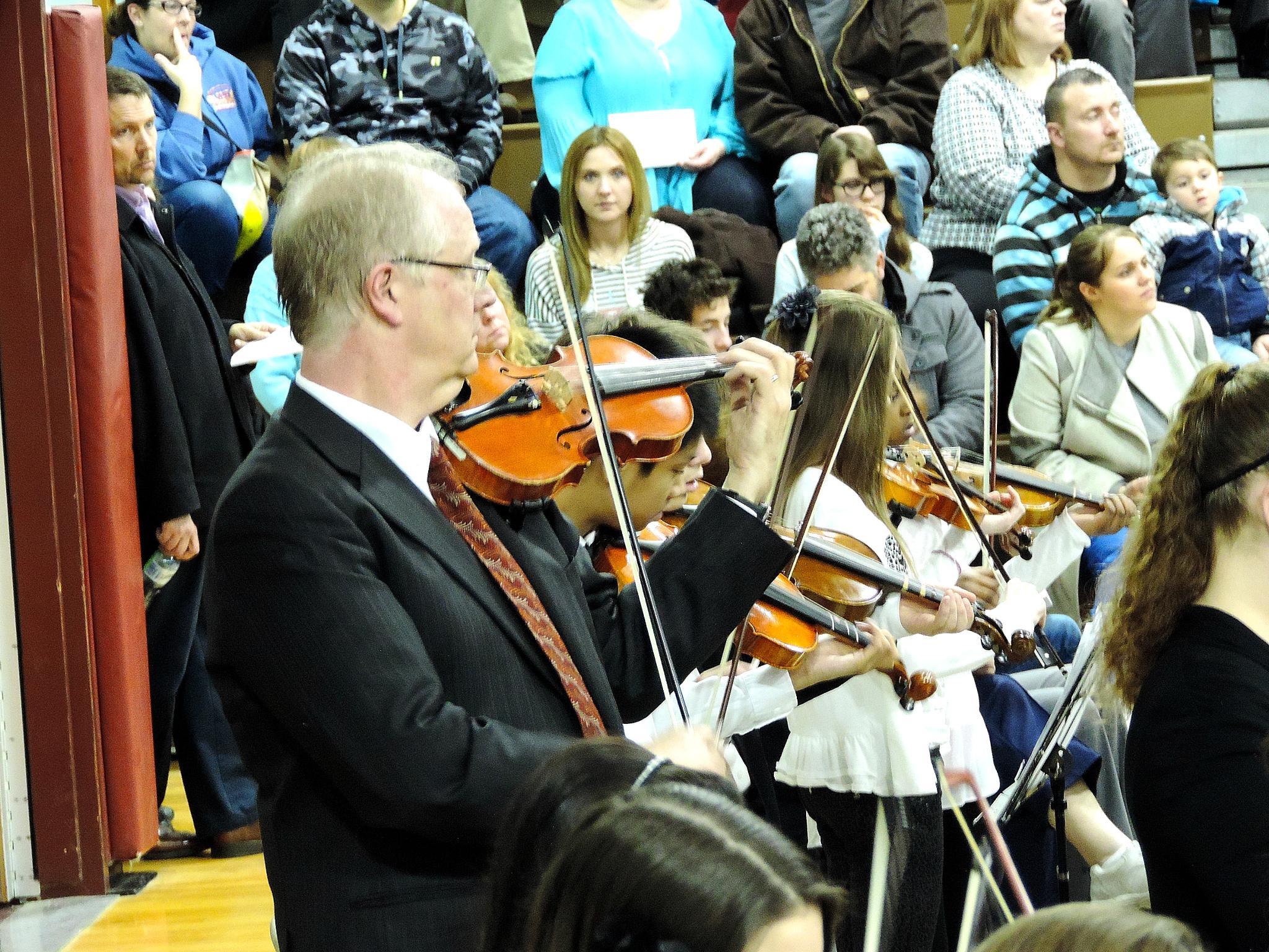 Photo in Concert #violin #viola #cello #bass #harp #concert