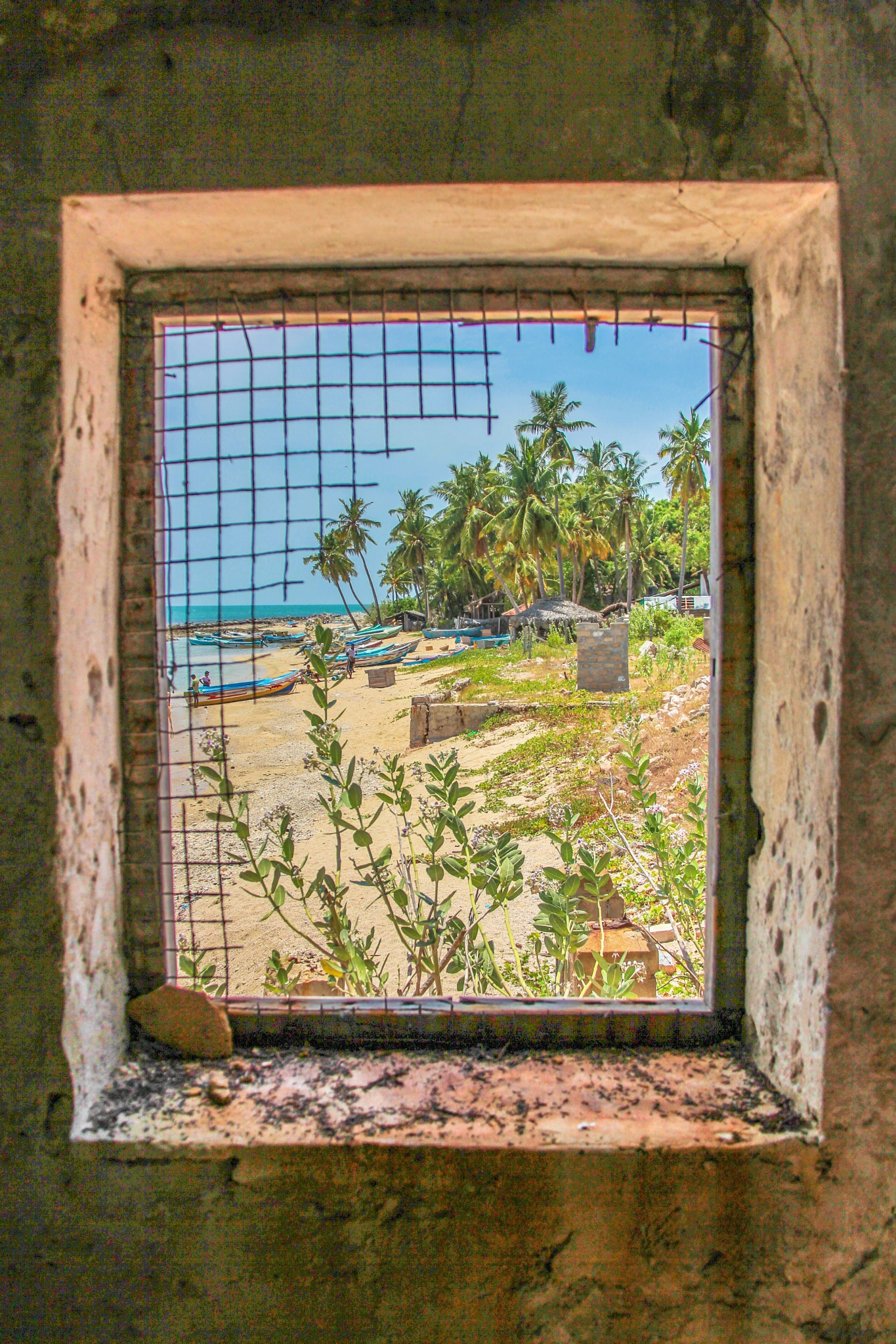 open window by Tharmapalan Tilaxan