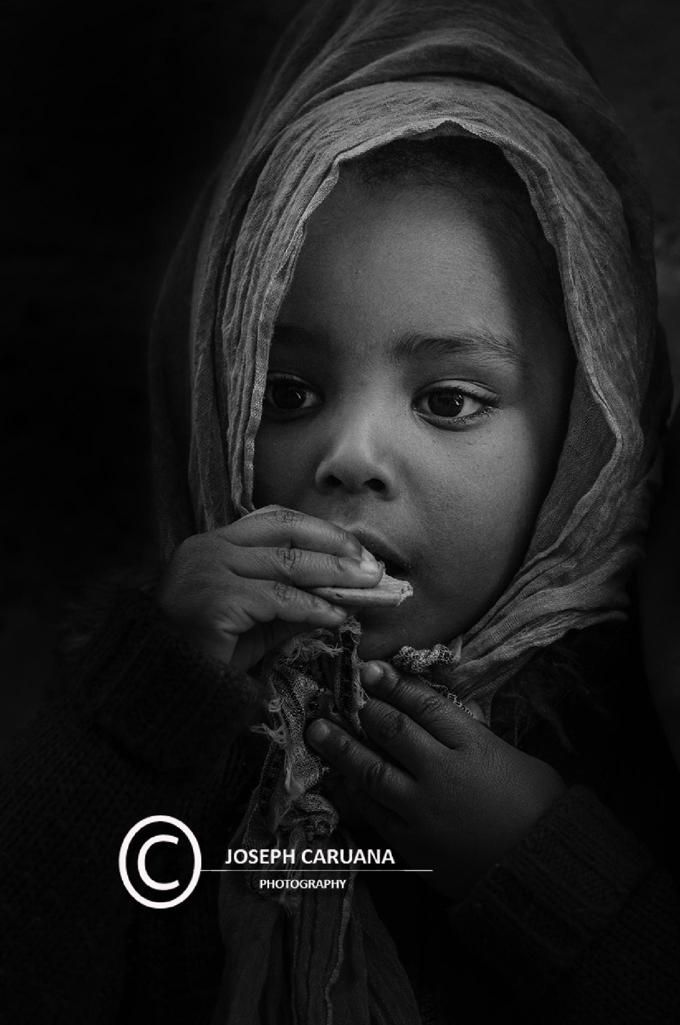 Eritrean girl by Joe Caruana