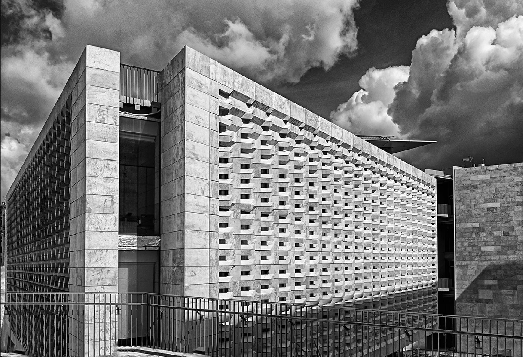 Parliament Building by Joe Caruana
