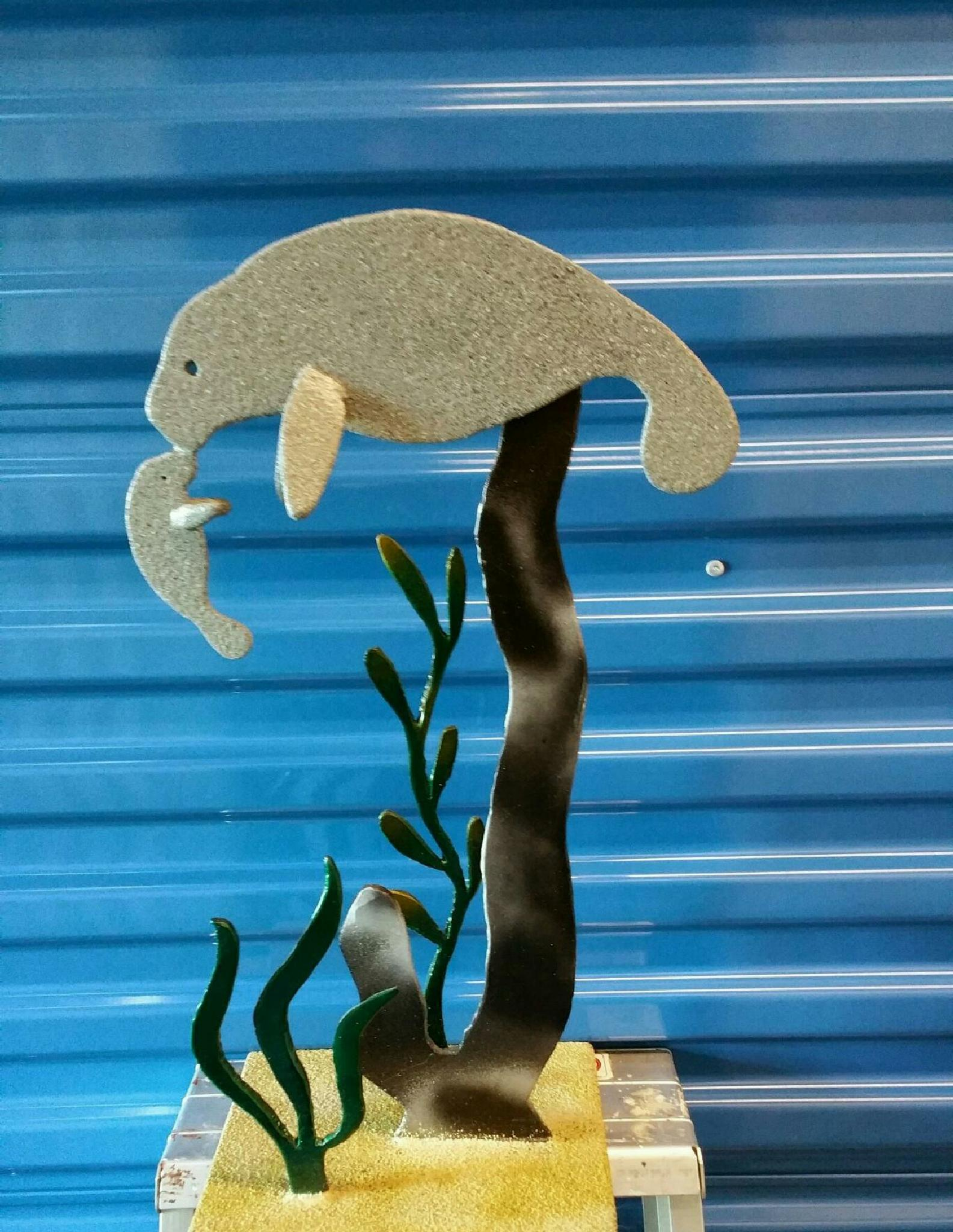 Manatee Sculpture by crystal.lennon1