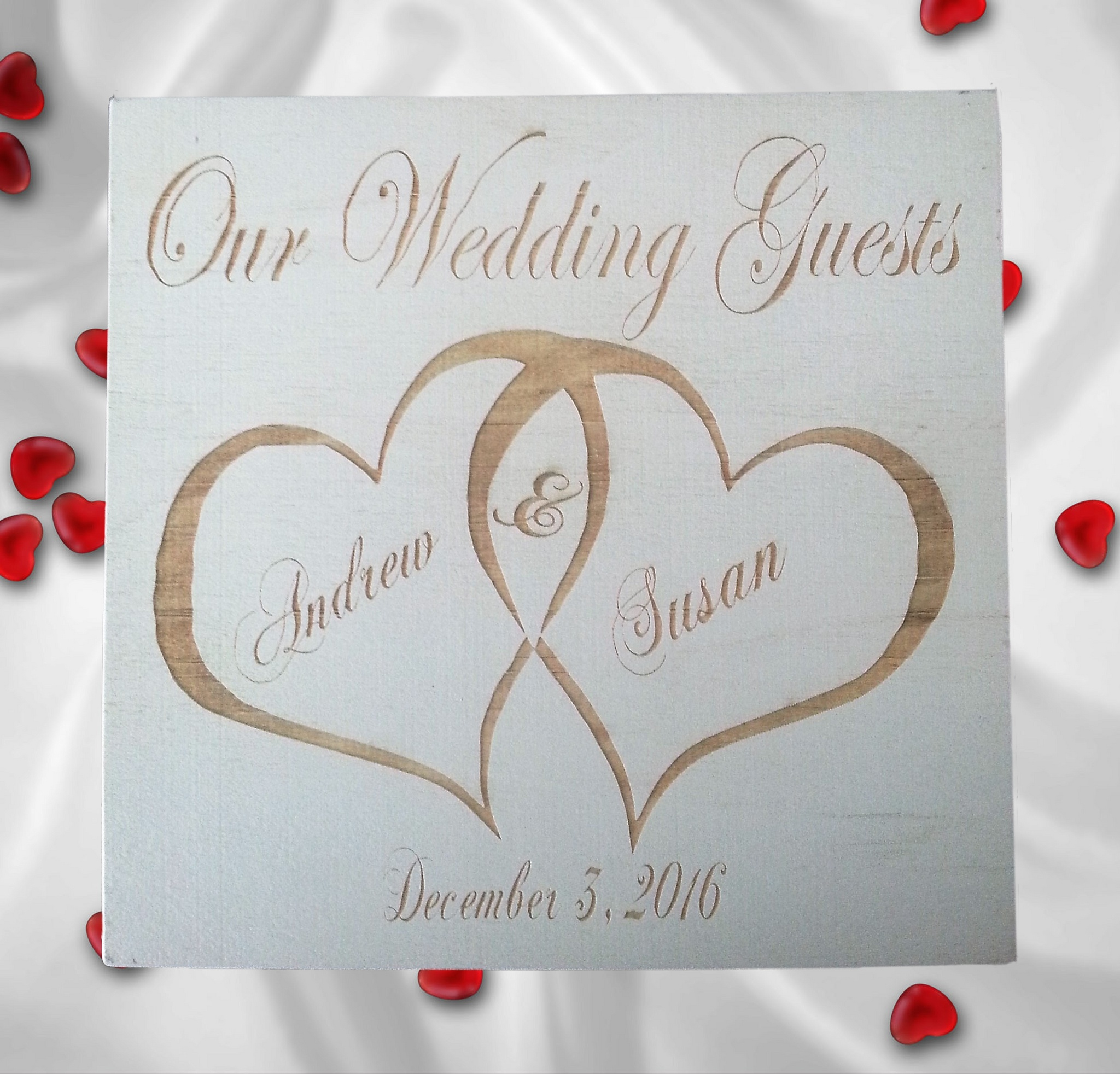 Wedding Guests Book by cwade28643