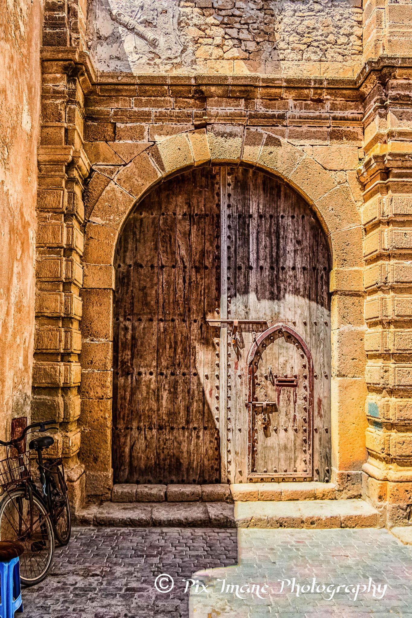Door - Essaouira - Morocco by PixImane Photography