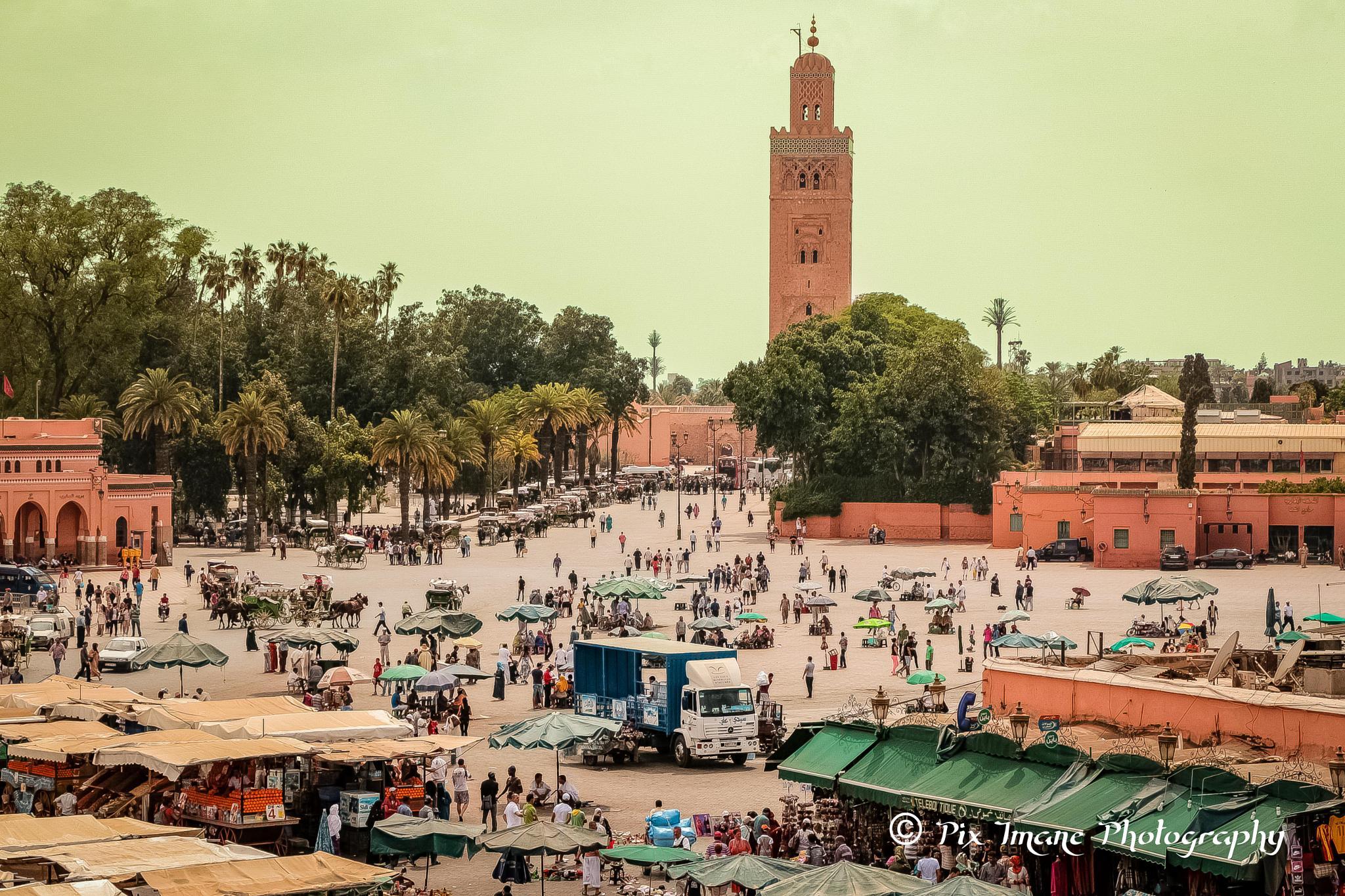Djemaa el Fna - Marrakech - Morocco by PixImane Photography