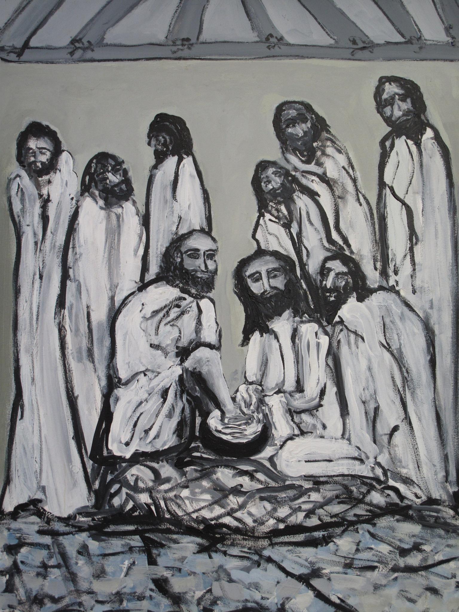 JESUS in the upper room. by paulcrimi178
