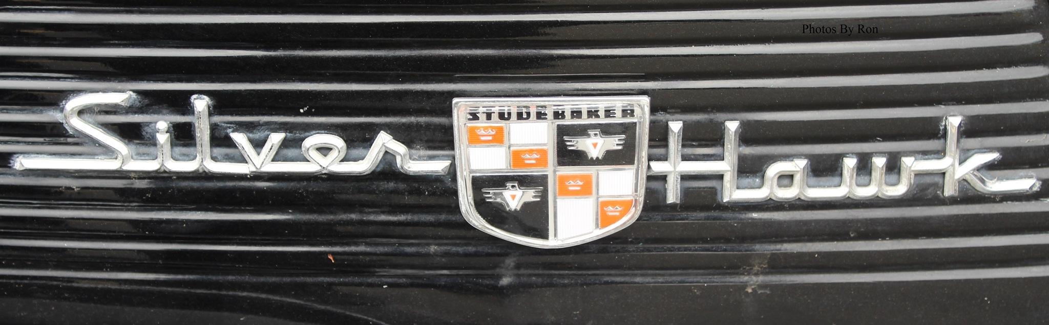"""""""1957 Studebaker Silver Hawk Logo Plate"""" by Ron Berkley"""