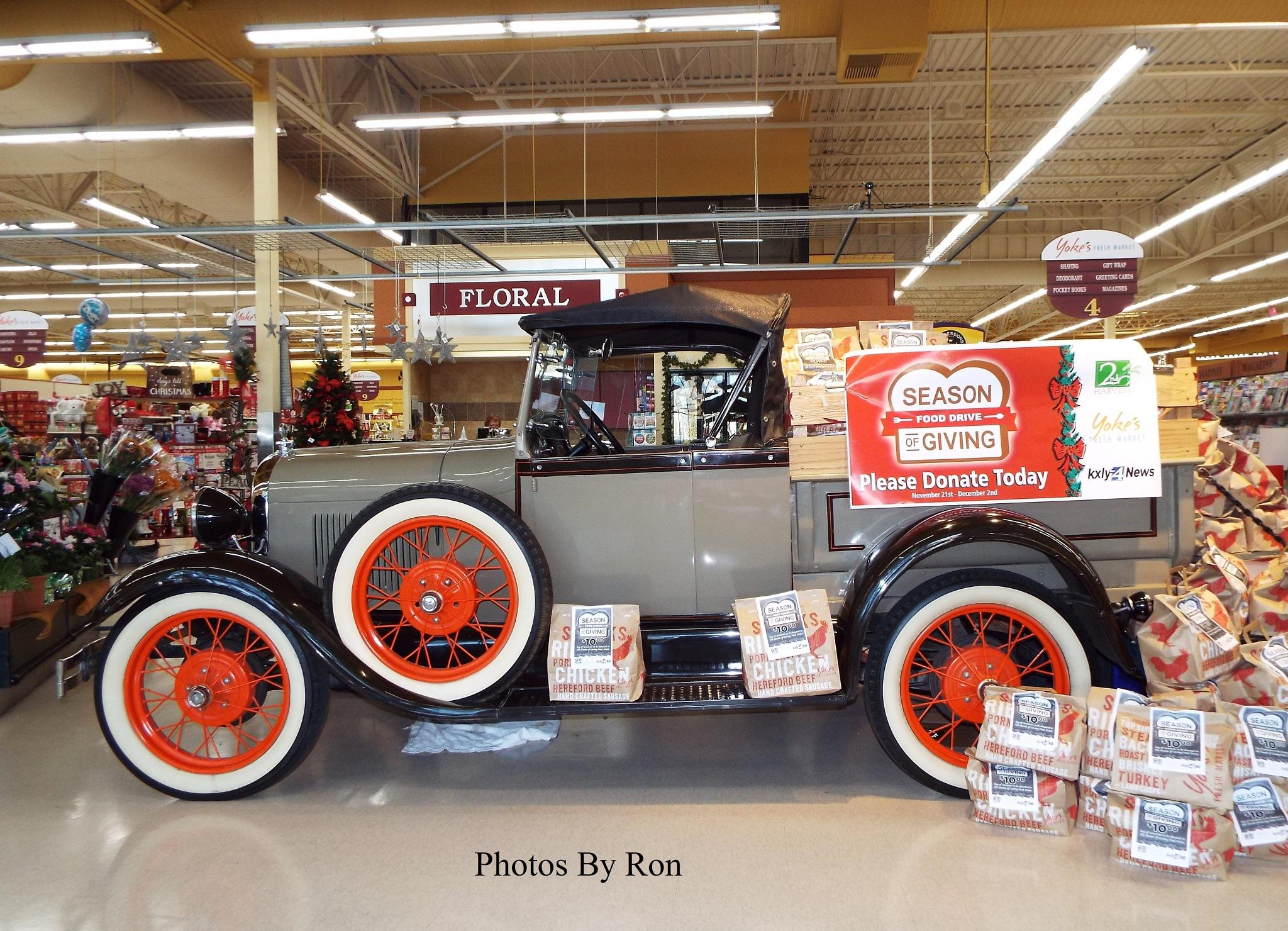 """1929 Model ""A"" Ford Ragtop"" by Ron Berkley"