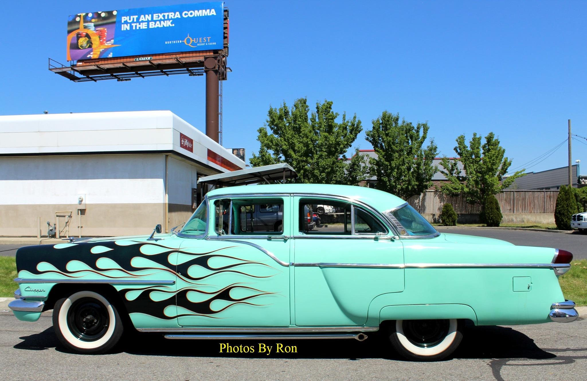 """1955 Packard Clipper Custom""  Pic#3 by Ron Berkley"