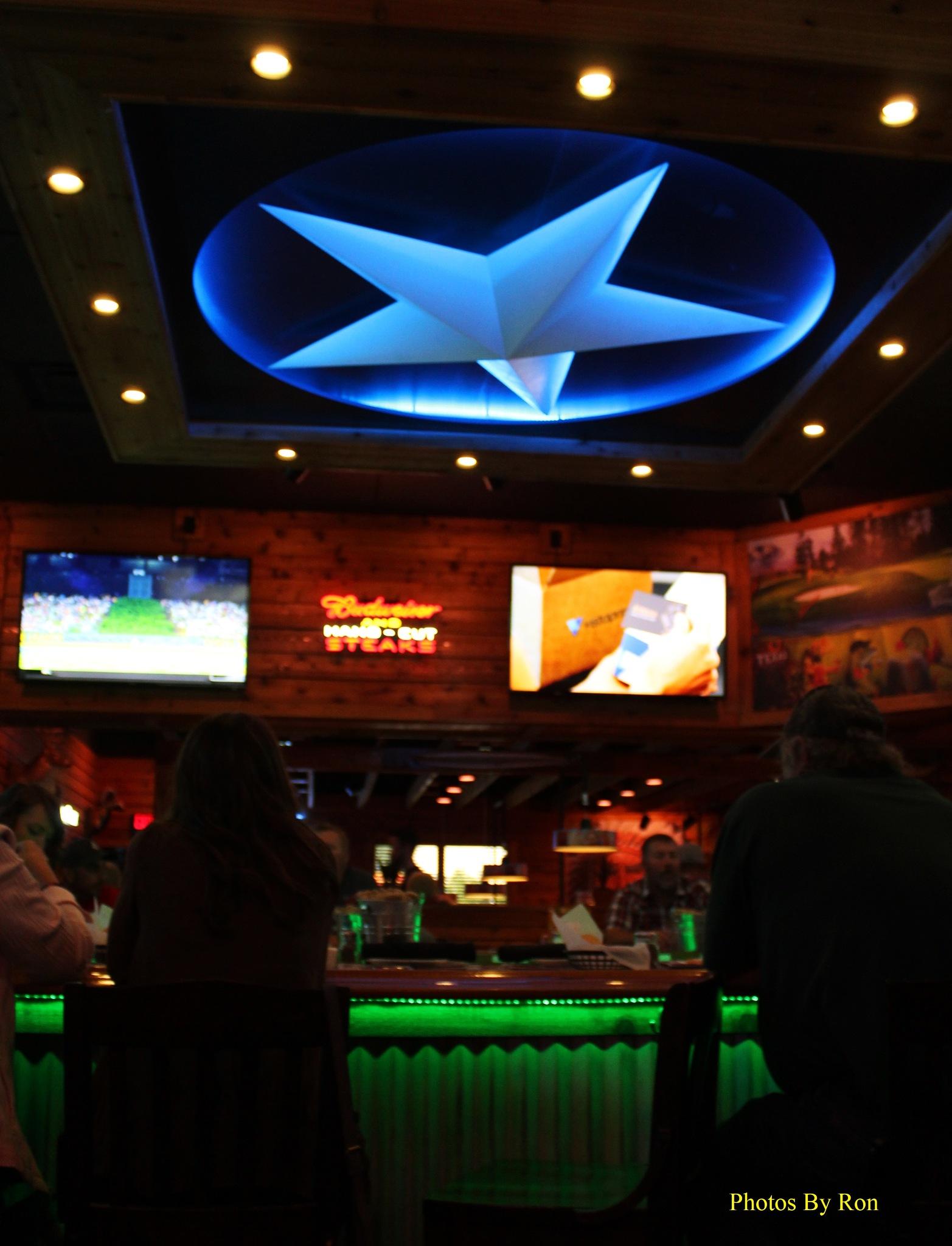 """Texas Roadhouse Restaurant Bar"" by Ron Berkley"