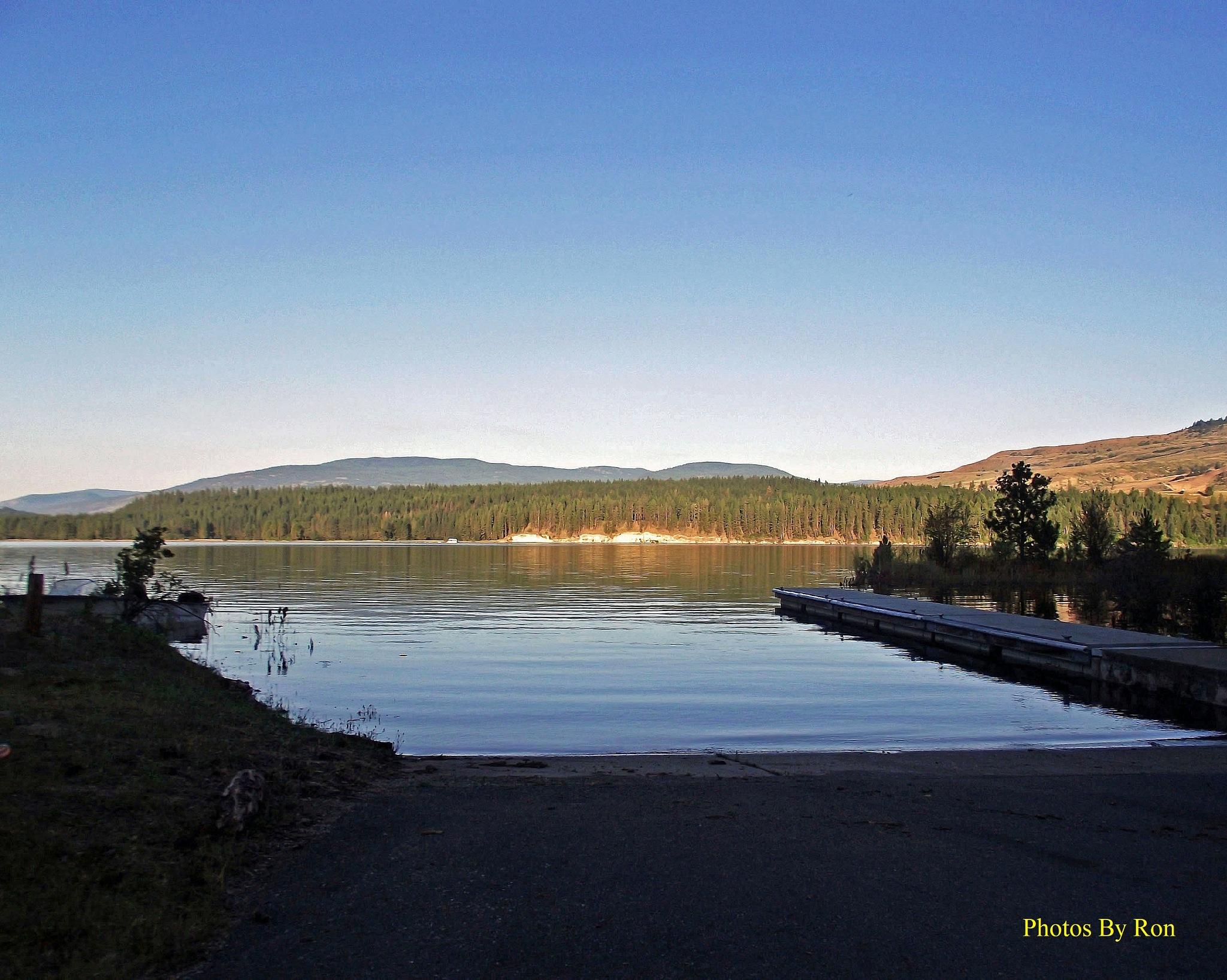 """Boat Ramp At Sunrise"" by Ron Berkley"