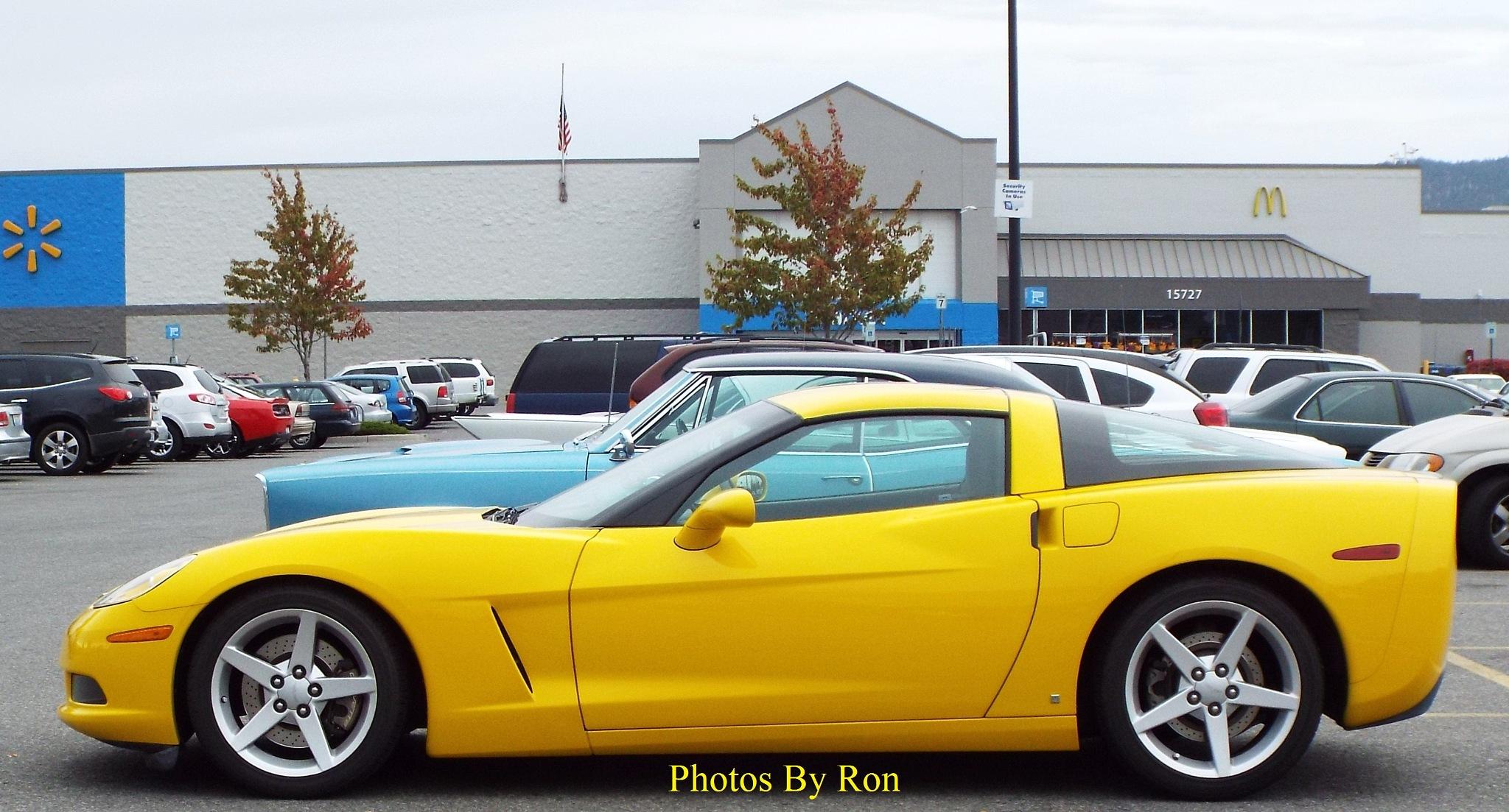 """Canary Yellow Corvette""   Pic #2 by Ron Berkley"