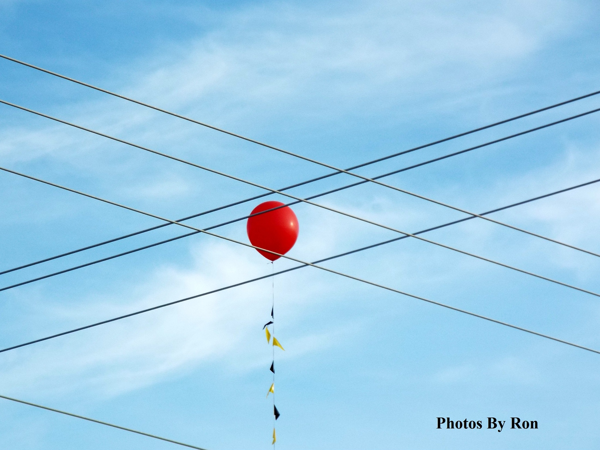 """""""The Red Balloon In The Crosshairs"""" by Ron Berkley"""