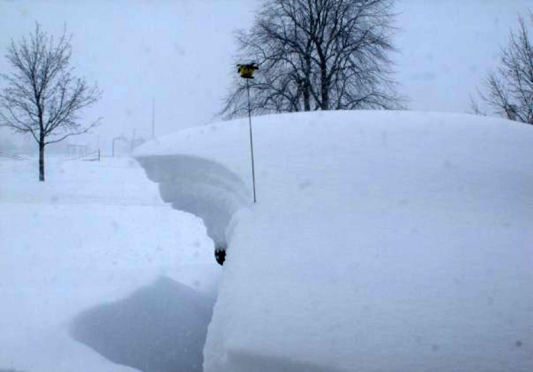 """""""Our Van Buried By Snow"""" by Ron Berkley"""