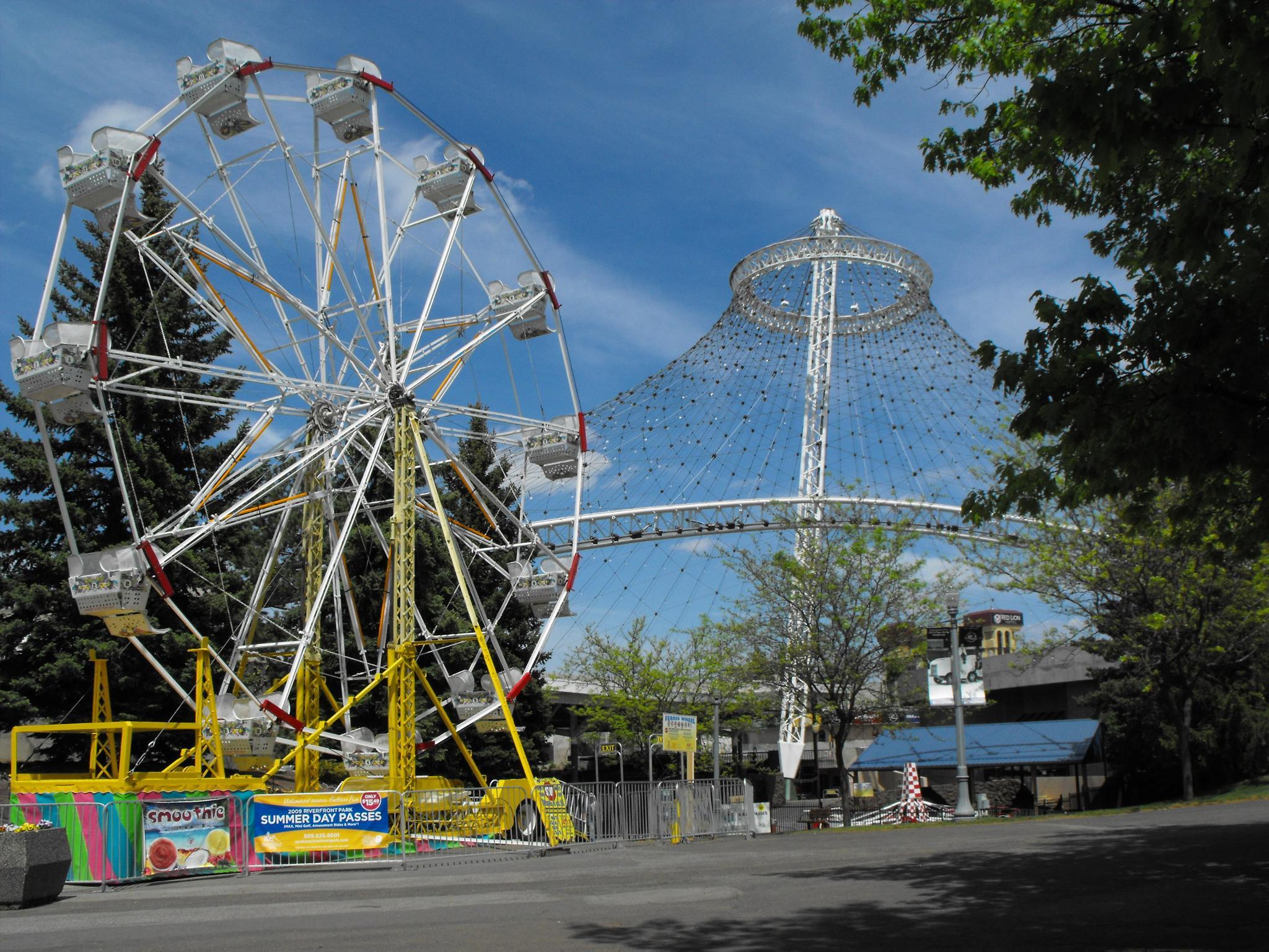 """Ferris Wheel & Pavilion"" by Ron Berkley"