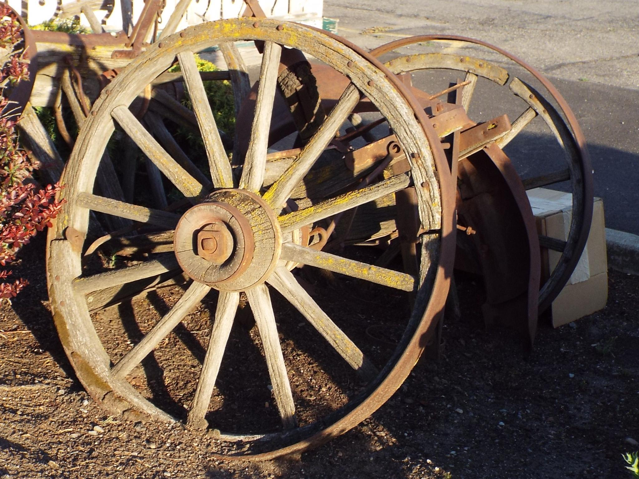 """Wagon Wheel Sunset"" by Ron Berkley"
