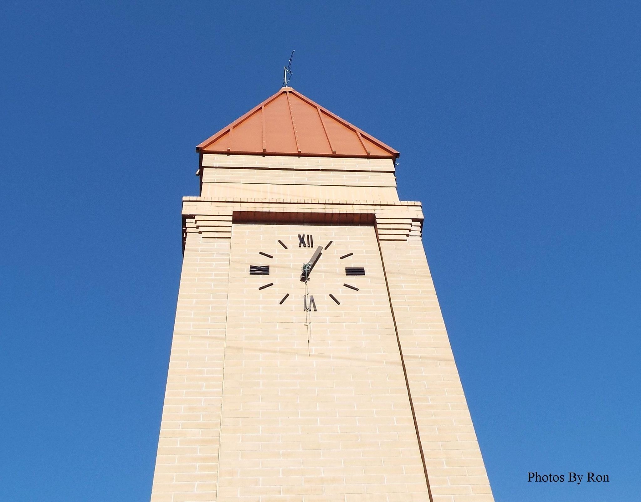 """Hi-Co Village Clock Tower"" by Ron Berkley"