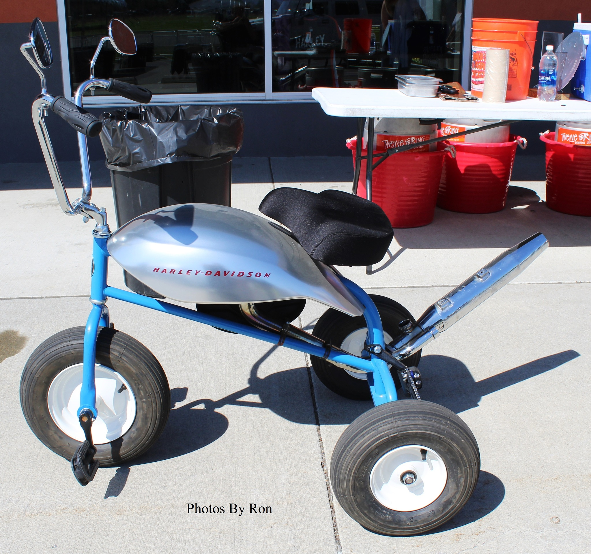 """""""Now THAT'S A Tricycle!!!!!""""  by Ron Berkley"""