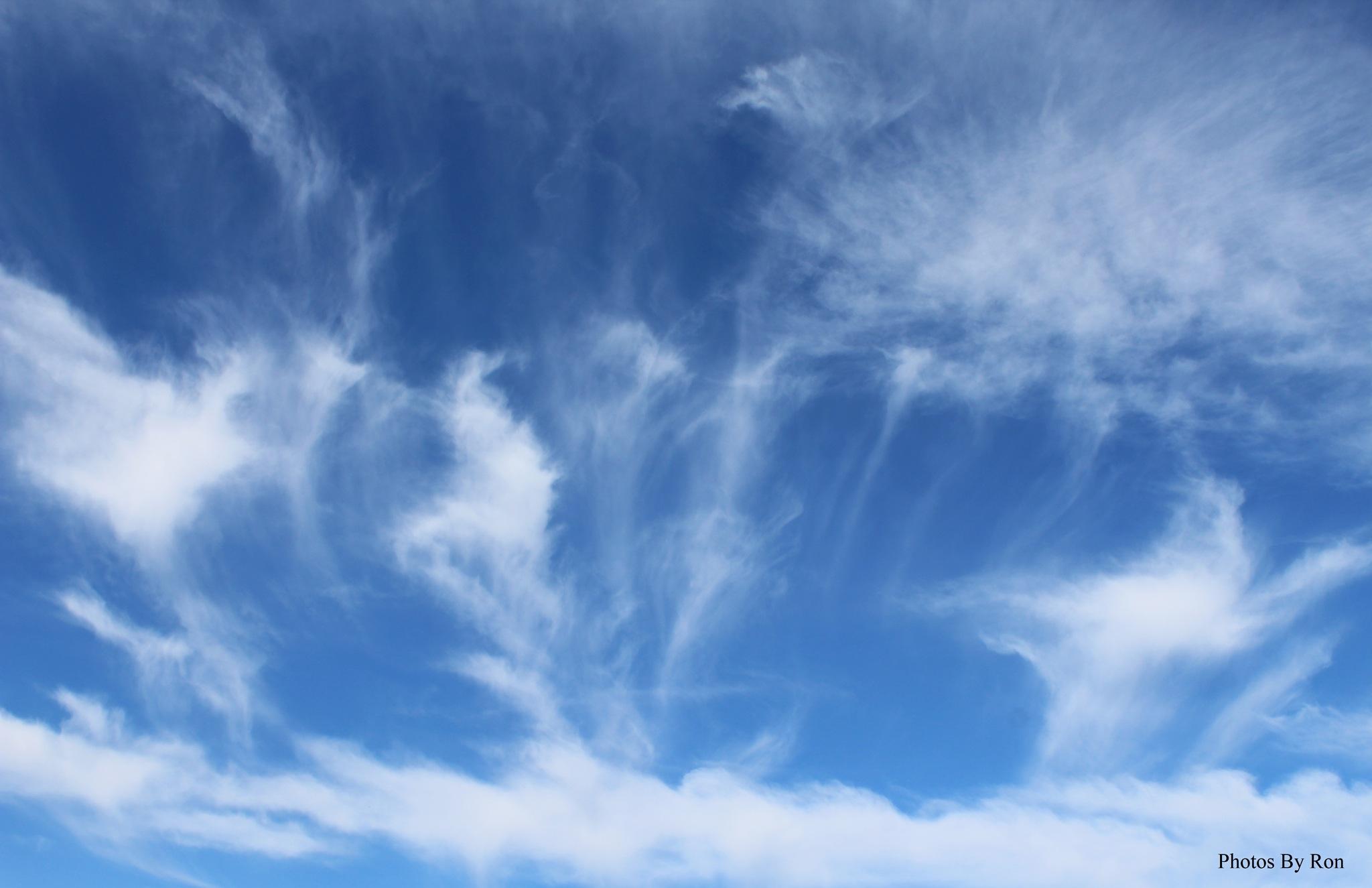 """Cloud Geysers"" by Ron Berkley"