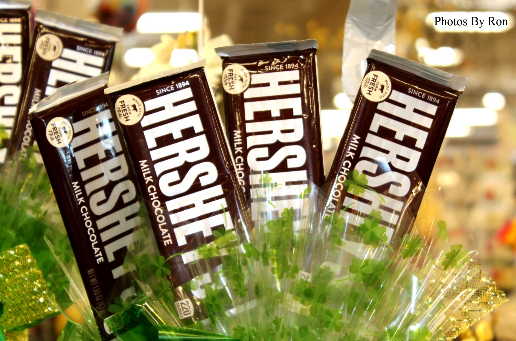 """""""The Hershey Bars Are Blooming!!!!!"""" :-) by Ron Berkley"""