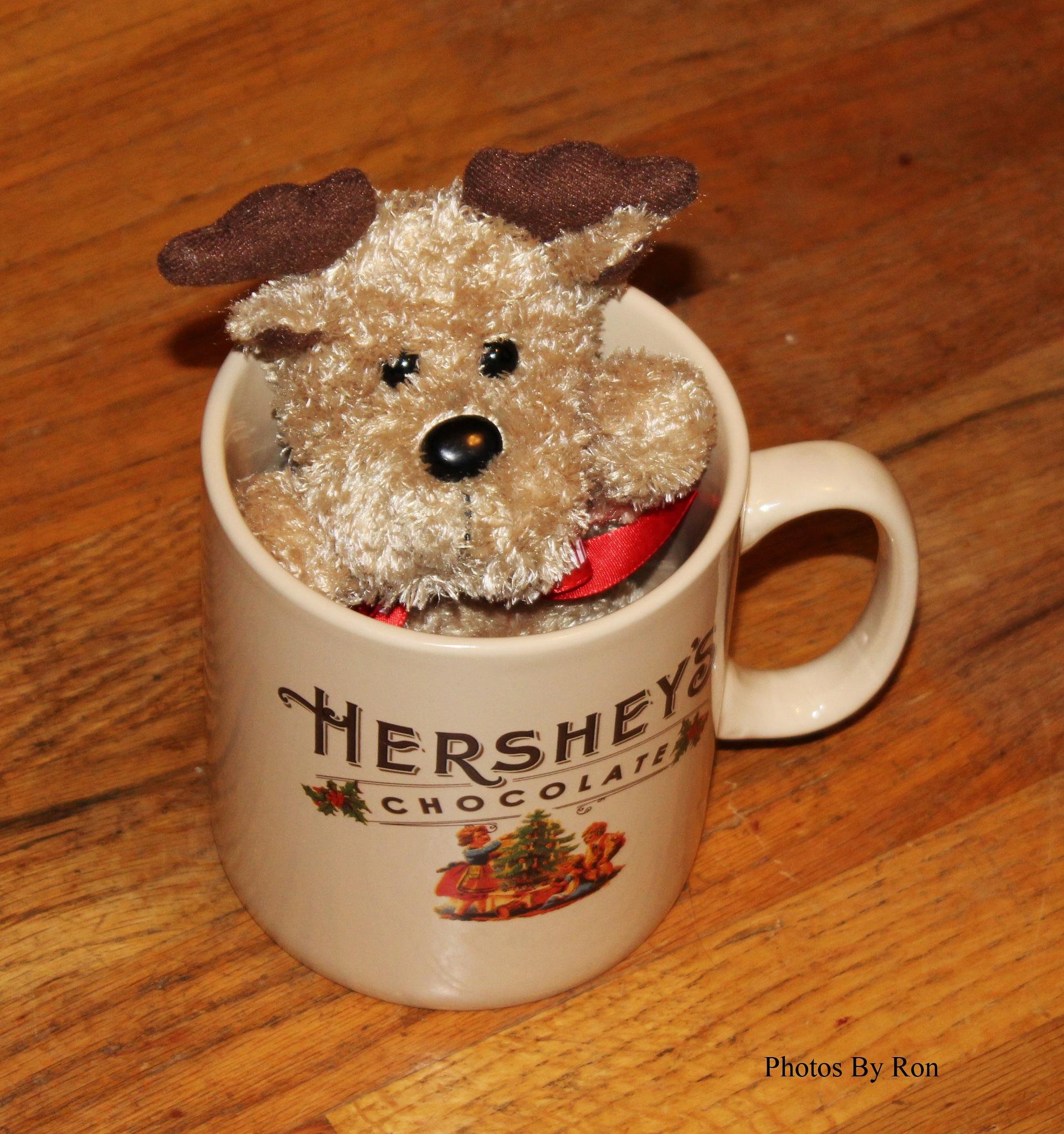"""Hershey The Chocolate Reindeer"" by Ron Berkley"