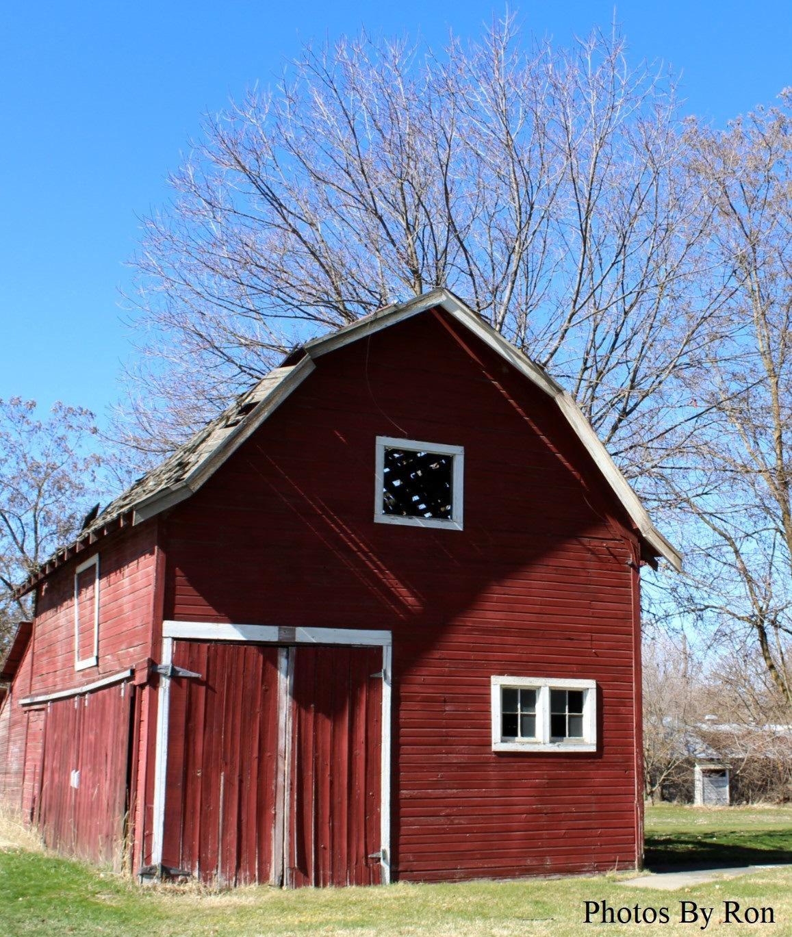 """An Old Barn""  by Ron Berkley"