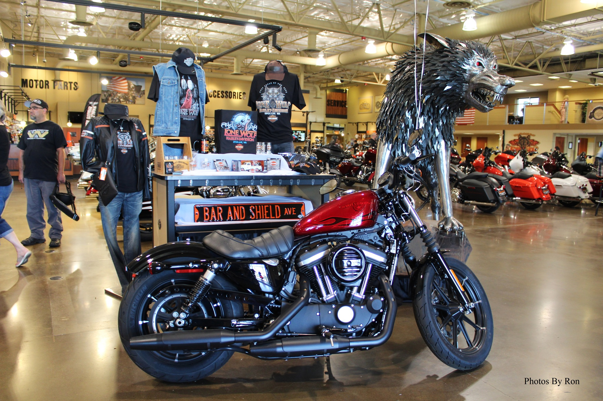 """A Random Shot At Lone Wolf Harley-Davidson At Spokane Valley, WA, USA"" by Ron Berkley"