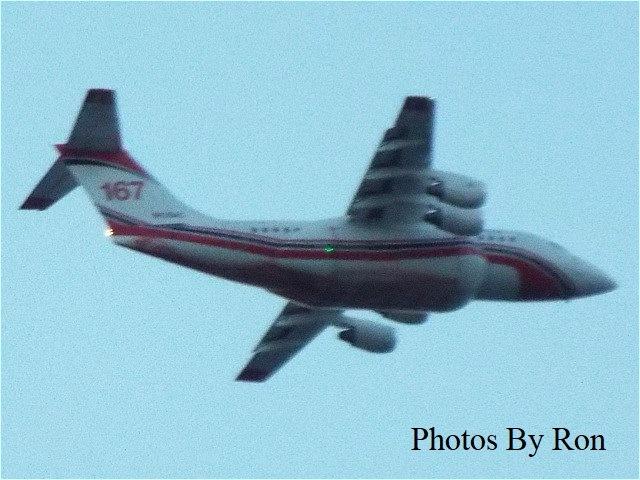 """A Low Flying Jet"" by Ron Berkley"