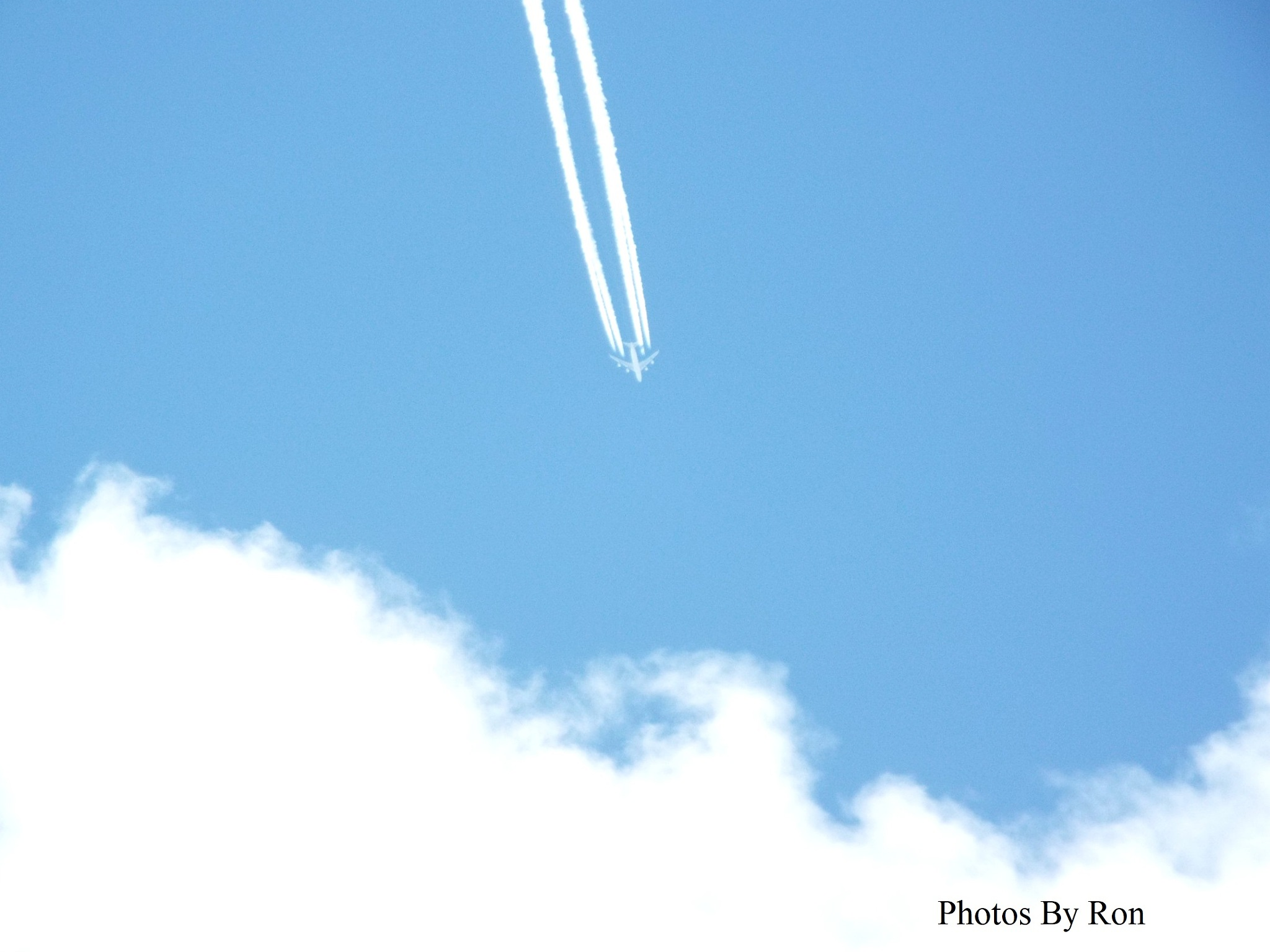 """""""Westbound 747"""" by Ron Berkley"""