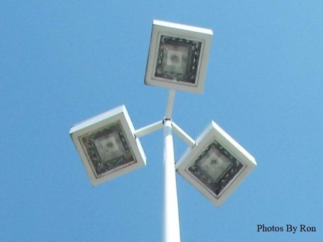 """Spokane Valley Mall Parking Lot Light"" (Close Up) by Ron Berkley"