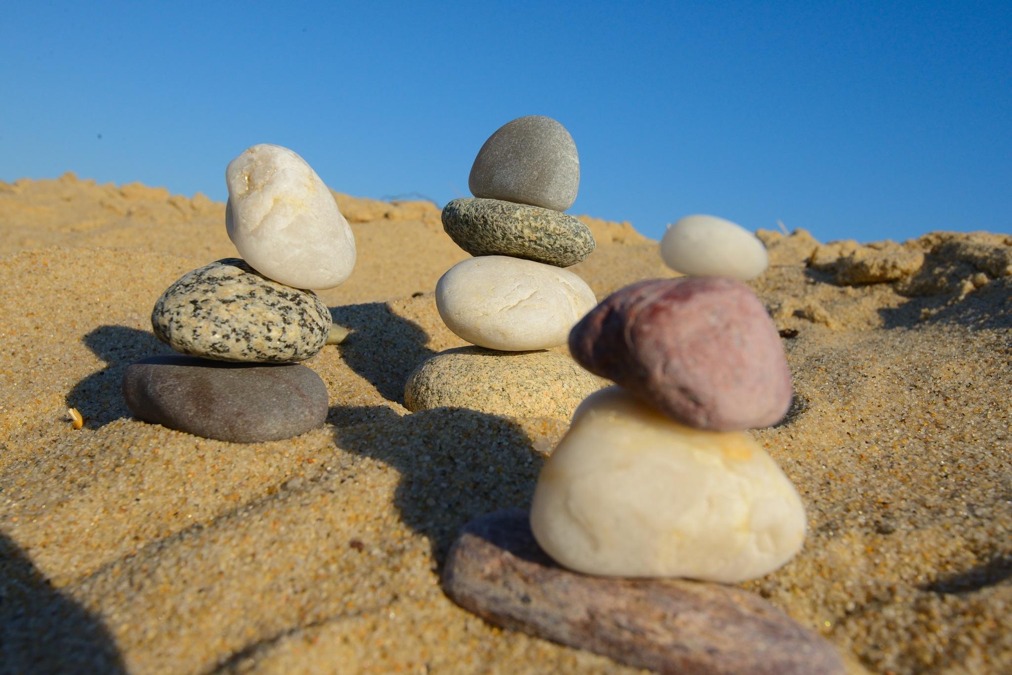 Balanced Pebbles by BillVasyl