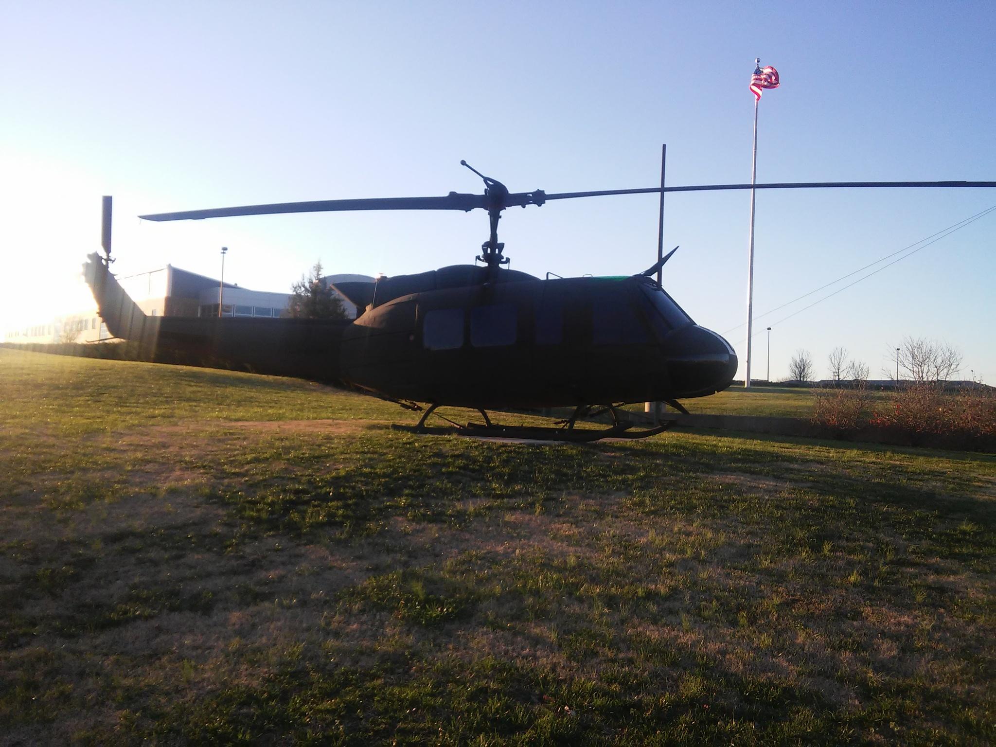 UH-1H Huey by Michael Glaze, Jr.