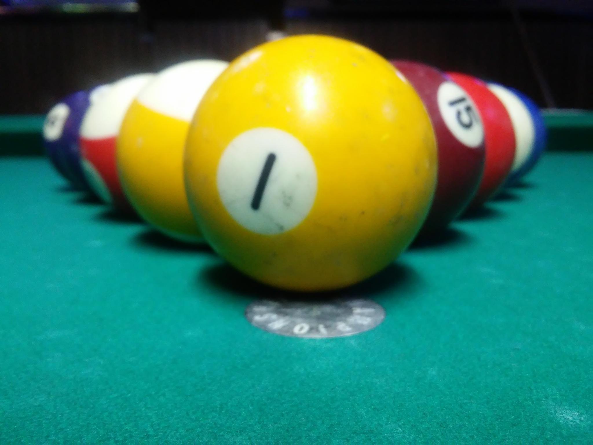 Pool Balls  by Michael Glaze, Jr.