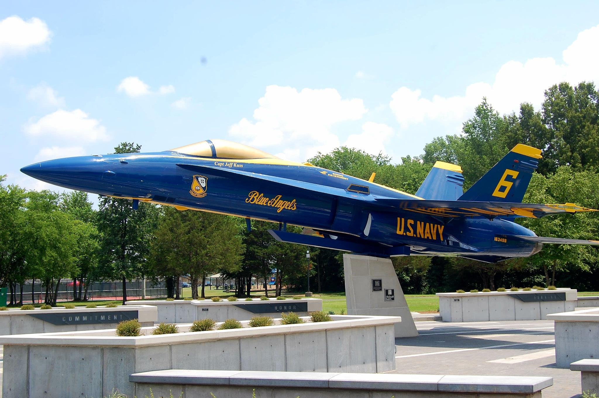 Captain Jeff Kuss USMC Memorial  by Michael Glaze, Jr.