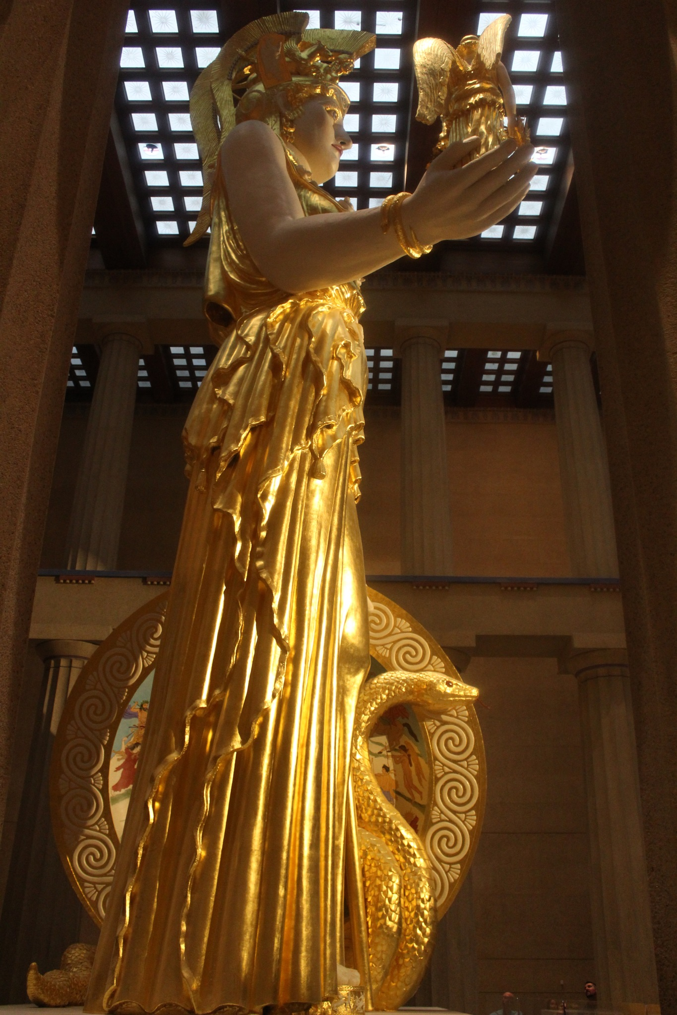 Athena Statue by Michael Glaze, Jr.