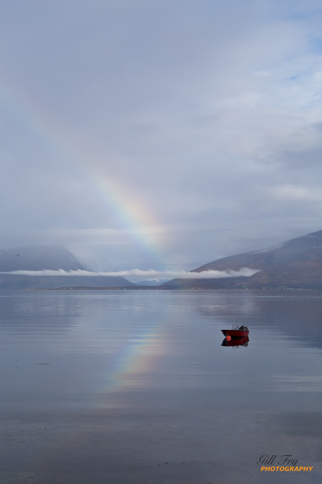 Rainbow Reflections by Gill Fry